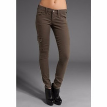 Pantalones Aeropostale T-25 Stretch Skinny Cargo Cropped