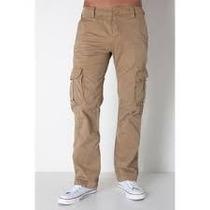 Pantalon Tactico Bolsas Cargo Cafe Tallas Extras 44x30