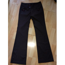 Pantalon Lvlx Americano Super Fashion Y Stretch Cafe