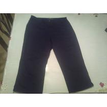 Pantalon Pescador O Capri Ralph Lauren Talla 8 De Mujer