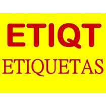 Etiqueta Transfer Blanca Med. 102x75mm