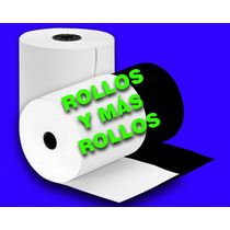 Rollo De Papel Bond 76x70 Mm 1 Hoja