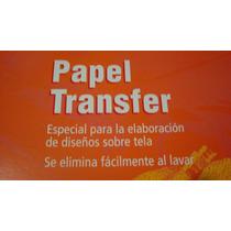 Papel Carbon Transfer Para Cualquier Uso Papeleria