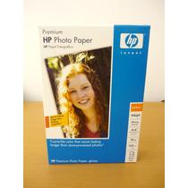 Papel Fotográfico Hp Premium, Inkjet, Tamaño 4x6