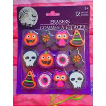Set De Borradores De Halloween Buho Dulce Etc