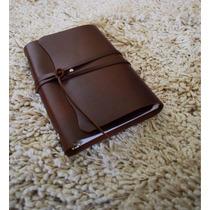 Carpeta Piel 100% Tamaño Esquela / Travel Journal