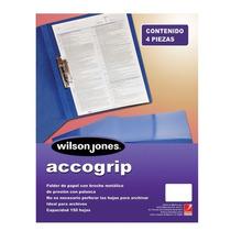 Folder Accogrip Oficio Azul Clar.c-/pa Accogrip Oficioaco