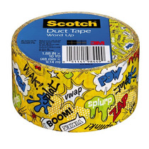 Cinta Adhesiva Duct Tape Word Up2 1.88 In X 10 Yd Scotch 3m