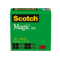 Cinta Adhesiva Magica Caja 12 Mm X 33 M Scotch 3m
