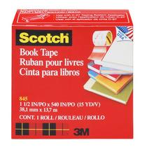 Cinta Adhesiva Especializada Libros Book Tape Scotch 3m