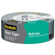 Cinta Adhesiva Industrial Embalaje Multiusos Gris Scotch 3m