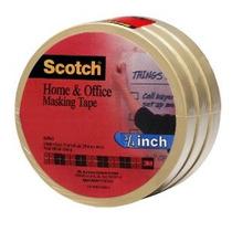 Scotch (r) Hogar Y Oficina Cinta Adhesiva 3436-3 3/4 Pulgada