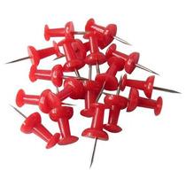 Pin O Tachuela Rojo Cajita Con 50 Piezas Obi