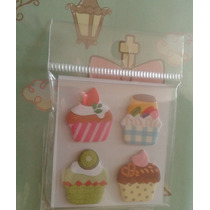 Papeleria Kawaii X3 Artículos Hello Kitty Cupcakes Vv4