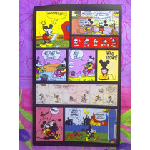Mickey Mouse Set De Calcomanias Caricaturas Vintage