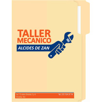 Folder Economicos Personalizados Impresos A Colores