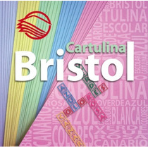 20 Pliegos D Cartulina Bristol 180gr Canario Azul Rosa Verde
