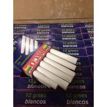 Caja Con 1200 Gises Blancos Escolares Baco Envío Gratis