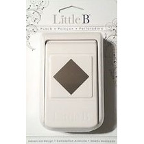 Scrapbook Little B Perforadora Diamante O Cuadro Papel 92 Lb