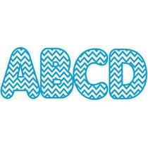 10172 Letras Magnéticas Azul Chevron Ashley Productions Inc.
