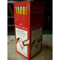 100 Lápiz De Grafito #2 Grado B Faber Castell