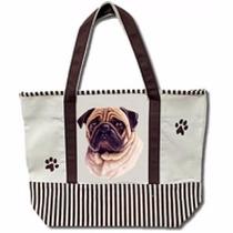 Bolsa De Manta Pug - Hermosa Tote Bag!