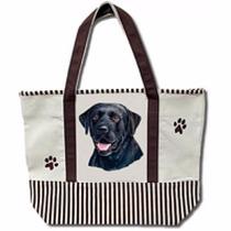 Bolsa De Manta Labrador Negro - Hermosa Tote Bag!