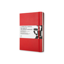 Libro Hand Of The Graphic Designer Rojo Moleskine