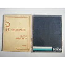 Blocks Milimetricos Scribe Interlib Y Opalina