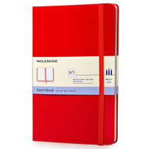 Libreta Grande Roja Pasta Dura Moleskine Cuaderno