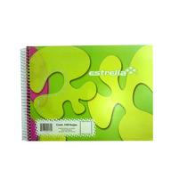 Lm-cuaderno Forma Italiana Blanco 100hjs Est-cua-c160 Upc: 6