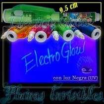 Pluma Espía Mini De Tinta Invisible Uv Glow In The Dark