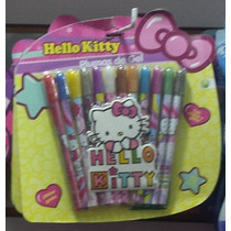 Plumas De Gel Hello Kitty Ideales Para Premios Fiestas