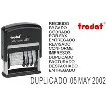 Fechador Autoentintable Trodat 4817 C/12 Leyendas (3,8 Mm)
