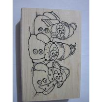 P235 Snowman Friends Stampendous Scrap