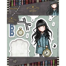 Scrapbook Set De Sellos Gorjuss