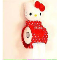 Porta Papel Higiénico Hello Kitty