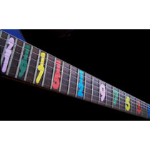 Marcadores Inlays Decals Vinil Style Jason Becker Guitarra