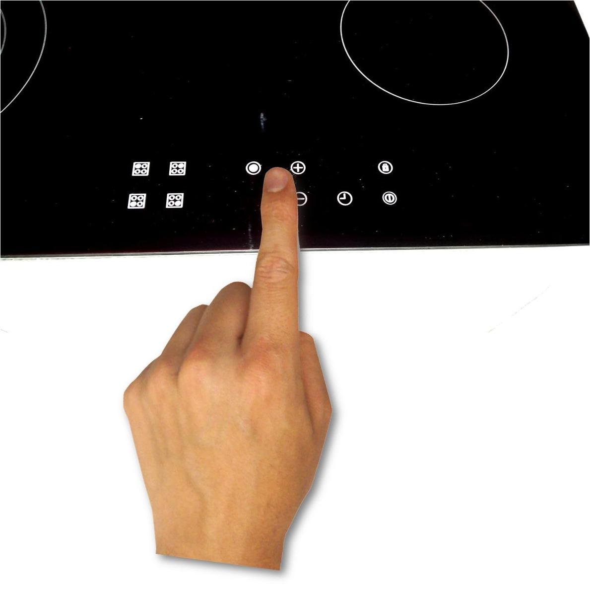 vitroceramica touch: