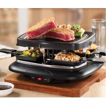 Grill Electrico Portatil Para Cocinar Alimentos 13025*