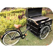 Triciclo Con Asador Y Aislante P/ Restaurant Rin Rin Biclas