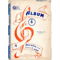 Album No. 6 De Agustín Lara