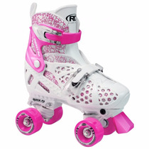 Patines Niña Ajustables Roller Derby® Rosa Trac Star Skate