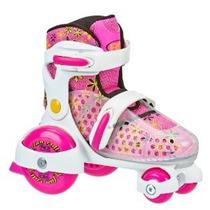 De Roller Derby Girl Fun Rodillo Rodillo Ajustable Skate