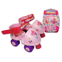 Patines Y Rodilleras Infantiles My Little Pony 6-12 American