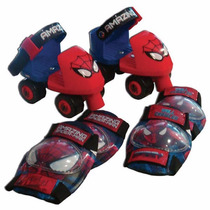 Patines Spiderman Preescolar Ajustables!