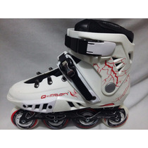 Patines Free Style Profesionales Qmoon Gl 4 Abec-7
