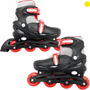 Patines De Linea Talla Ajustable 4.5 Ala 7 Ruedas 80mm Freno