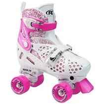 De Roller Derby Chica Roller Star Trac Ajustable Skate Blanc