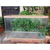 Pecera Grande De Vidrio Grueso Capacidad 117 Litros